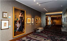Gallery Lobby of Art Ovation Hotel, Autograph Collection at Sarasota, Florida