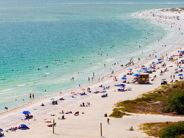 Siesta Key Beach at Sarasota, Florida