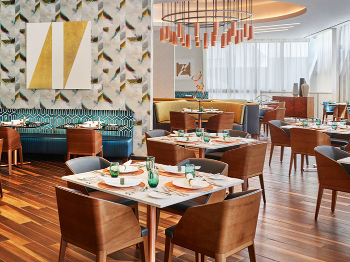 Overture Restaurant & Gallery Lounge of Art Ovation Hotel, Autograph Collection at Sarasota, Florida