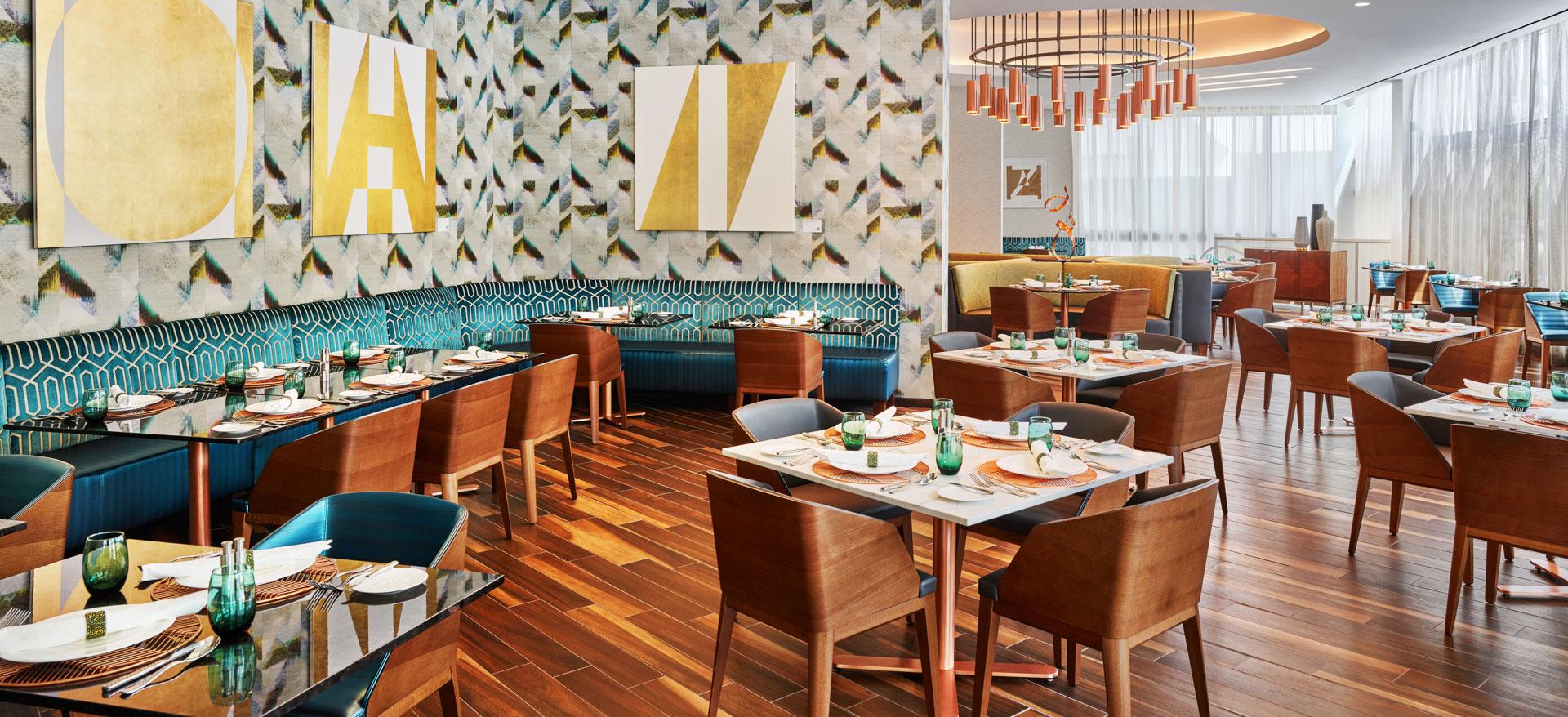 Overture Restaurant of Art Ovation Hotel, Autograph Collection at Sarasota, Florida