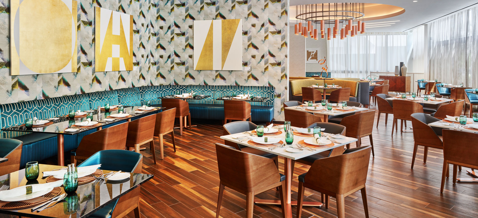 Overture Restaurant of Art Ovation Hotel, Autograph Collection at Sarasota, Florida