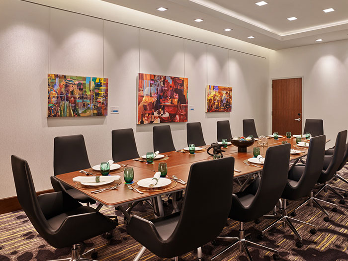 Meeting room of Art Ovation Hotel, Autograph Collection at Sarasota, Florida