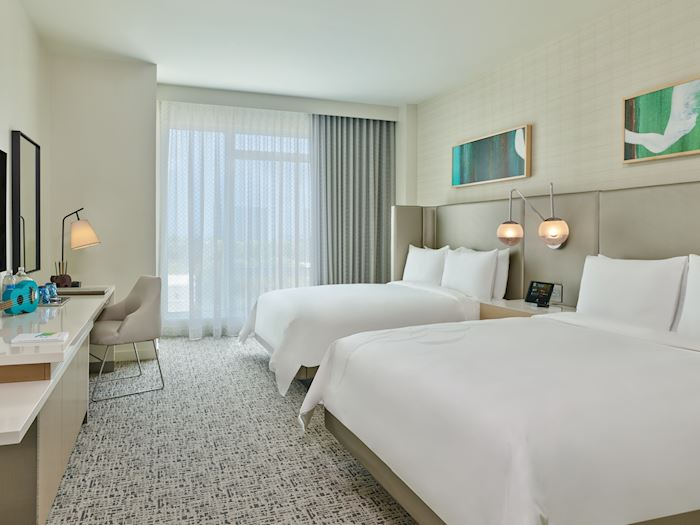 Two Queen Guest Room Limited View at Art Ovation Hotel, Autograph Collection, Sarasota