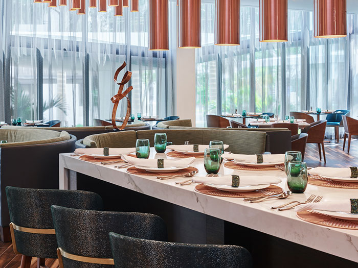 Overture Restaurant Private Dining of Art Ovation Hotel, Autograph Collection at Sarasota, Florida